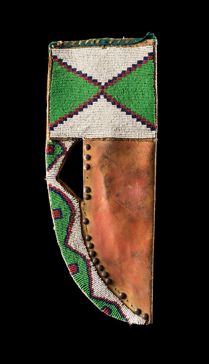 Knife Scabbard, Blackfeet