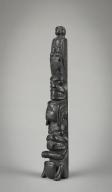 Charles Gladstone, Haida, Miniature Totem Pole