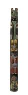 Northwest Coast Indians, miniature totem pole