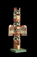 Tlingit Miniature Totem Pole