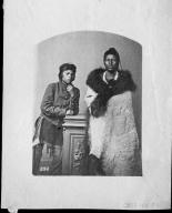 Portrait of Two Pawnee