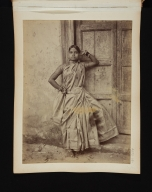 Nautch Dancing Girl in Sri Lanka.