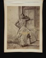 Nautch Dancing Girl in Sri Lanka.