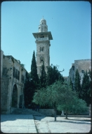 Minaret at the Temple Mount