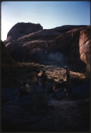 Campsite in Glen Canyon