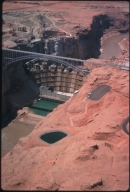 Glen Canyon Dam construction