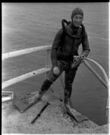 Aquatic fieldwork on Galapagos Islands.