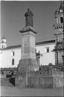 Statue to Federico Gonazalez Suarez
