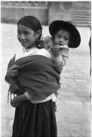 Ecuadorian girl and child