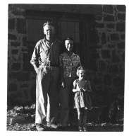 Alfred and Pat Bailey with Norman Nevills' daughter