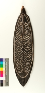 Melanesian gope board