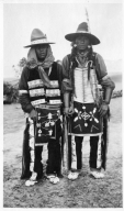 Portrait of Ute Mountain Ute men