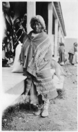 Portrait of a Ute woman