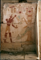 Artwork at Temple of Ramses II