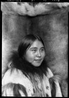 Eskimo girl in Wainwright, Alaska