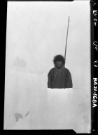 Dr. Sheldon Jackson standing in a snow bank