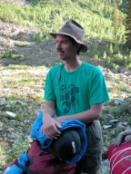 Bryan Small at Maroon Bells, Gast Site
