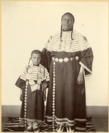 Mrs. Nancy Gap and child, Sioux