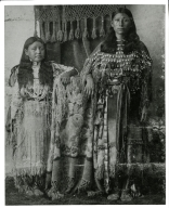 Two Kiowa women