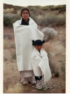 Hopi Woman and Child