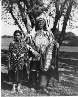 Crow Man and Girl