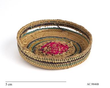 Makah Basketry for Bottle Lid
