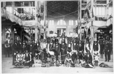 Ute Indians, Denver Exposition