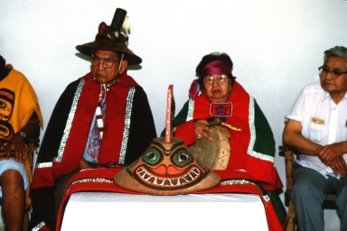 Repatriation of Tinglet Hat to the Killer Whale Clan