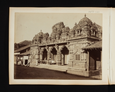 Temple exterior in Madras, India.