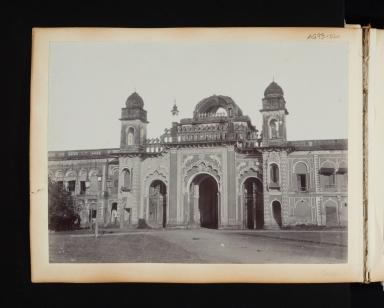 Building Exterior in Lucknow, India.