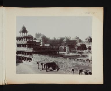 View of a city in Delhi, India.
