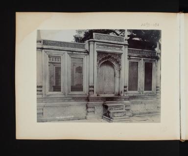 Mo. Shah's Tomb in Delhi, India.
