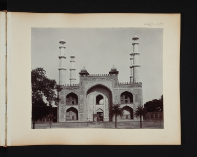 Mosque in Agra, India.