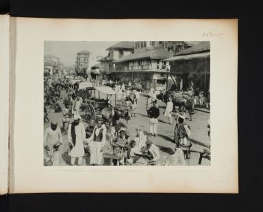 Bombay, India street scene.