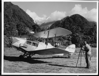 Alfred M. Bailey in New Zealand