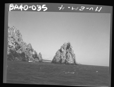 Fieldwork in Baja Islands, Mexico