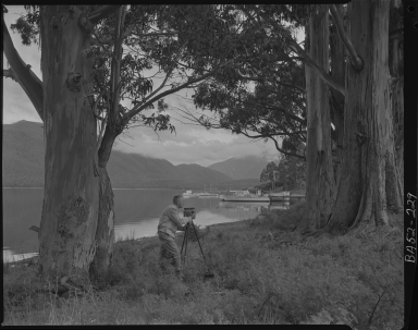 Alfred M. Bailey Fieldwork in New Zealand