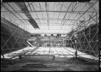 Phipps Auditorium construction