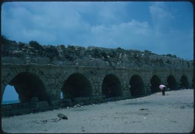 Roman built aqueduct