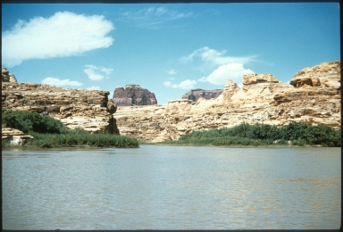Confluence of the Dirty Devil River and the Colorado River