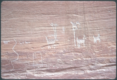 Petroglyphs in Glen Canyon