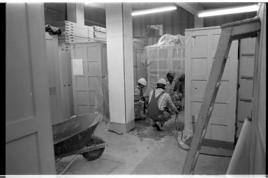 1983 IMAX Construction