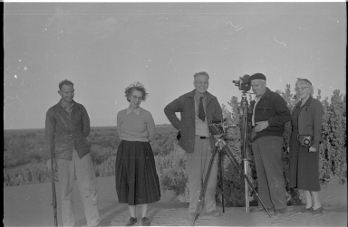 Field team members at Thelangerin Station