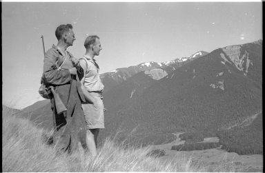 Field team members at Lewis Pass