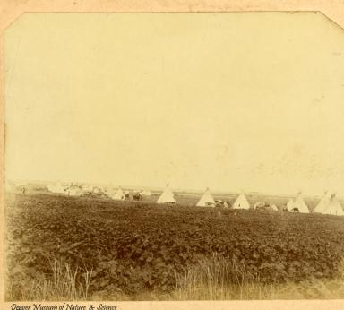 Cheyenne and Arapahoe tipis