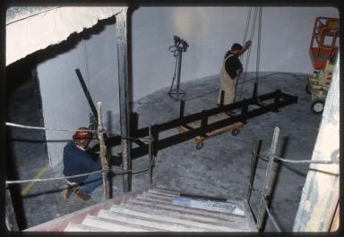 Construction of Prehistoric Journey Exhibit