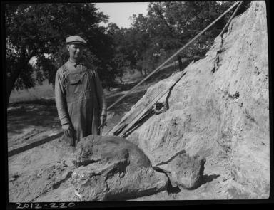 Dig site in Nebraska