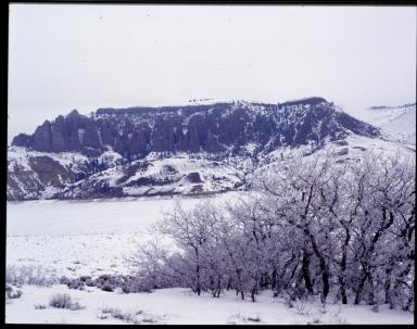 Gunnison County in winter