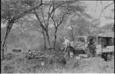 Camp site in Zimbabwe