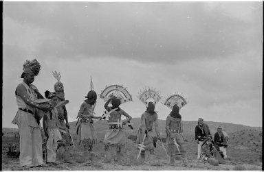 Apache crown dancers